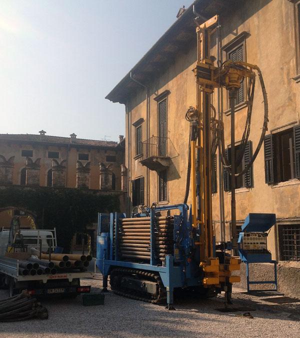 Trivellazione pozzi per geotermia Verona