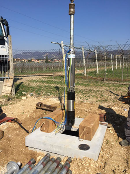 Impianti sollevamento acqua verona
